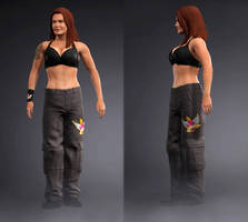 WWE 2K17 Lita Raw 1000 by Josh-84