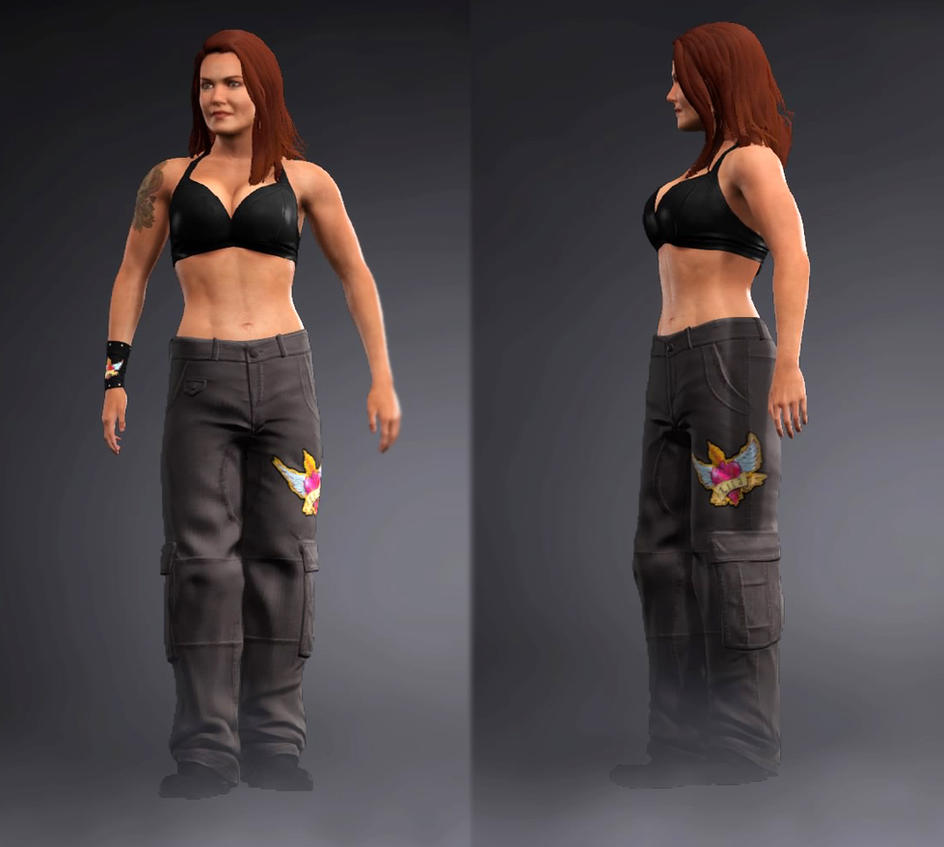 WWE 2K17 Lita Raw 1000 by Ms-Marvel-Avenger