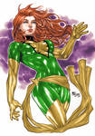 Jean Grey Phoenix Colors (Fredbenes)