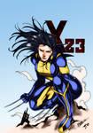 X-23 Wolverine Colors (Daniele Torres)