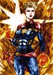 Captain Marvel Colors (Rodrigo Roger)