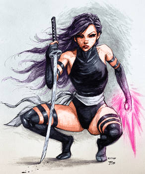 X-Force Psylocke Colors