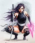 X-Force Psylocke Colors by Josh-84
