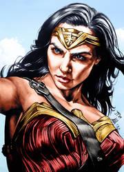 Wonder Woman Colors (Antonietta Arnone Arts)