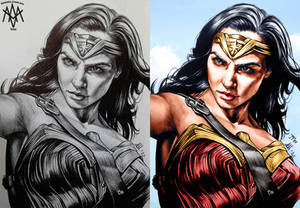 Wonder Woman Colors (Antonietta Arnone Arts) B/A