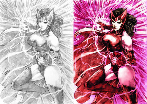 Scarlet Witch Colors (Rodrigo Roger) B and A