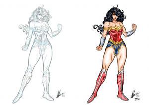 Wonder Woman Colors B and A (Marc F. Huizinga)