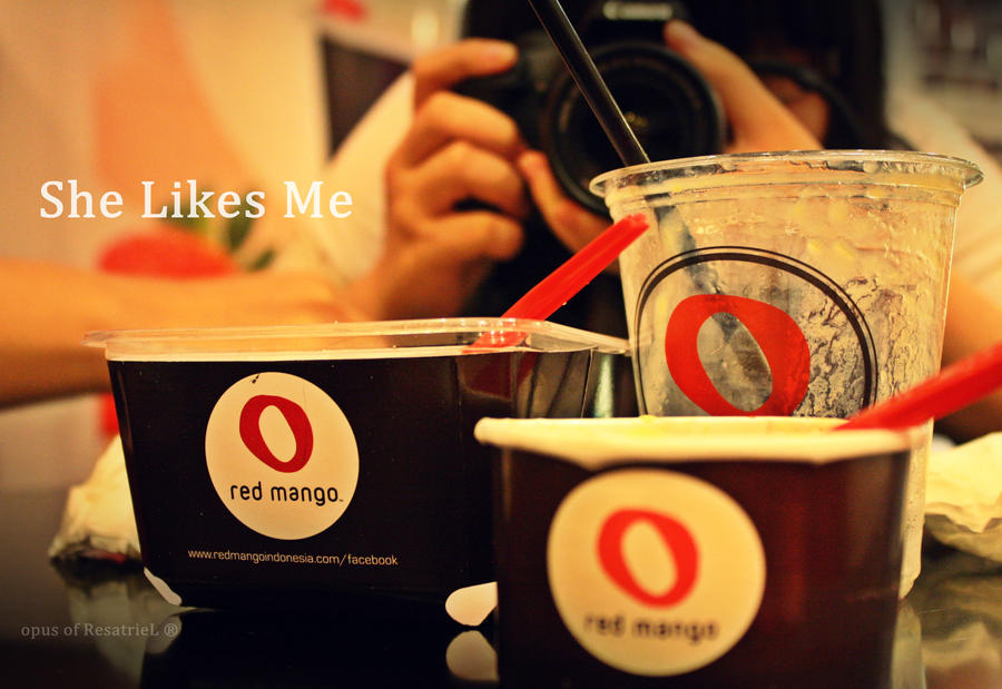 Red Mango, She Likes Me by reginasiena