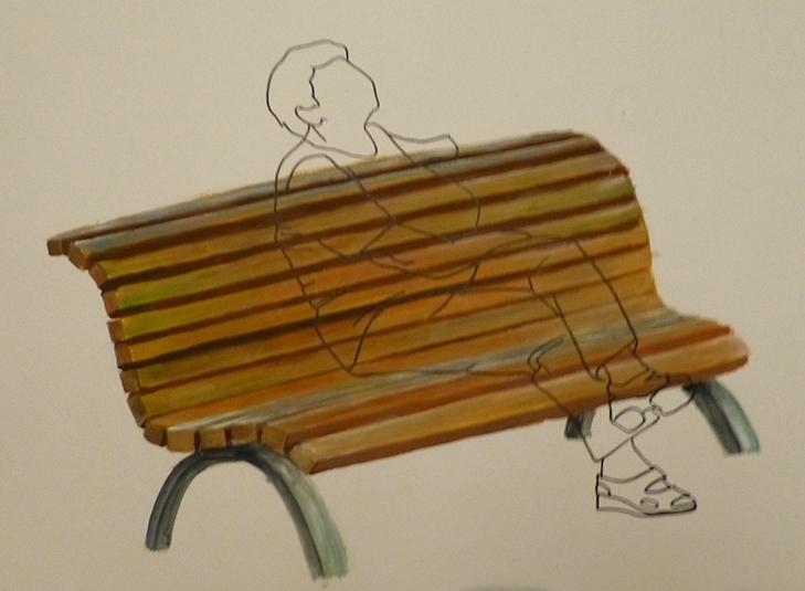 women on bench 1 by manoatari