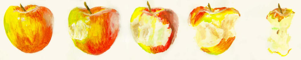 old work apples by manoatari