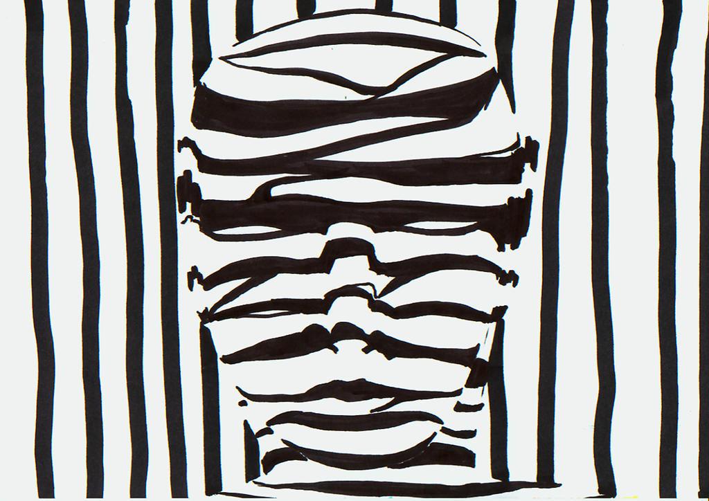 old work faces zebra by manoatari