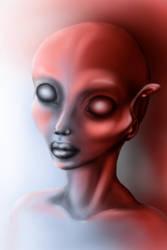 drawing tablet practice alien by manoatari