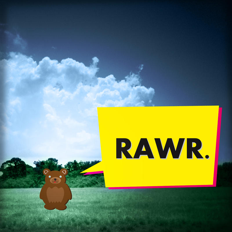 Rawr. by vanvangmy