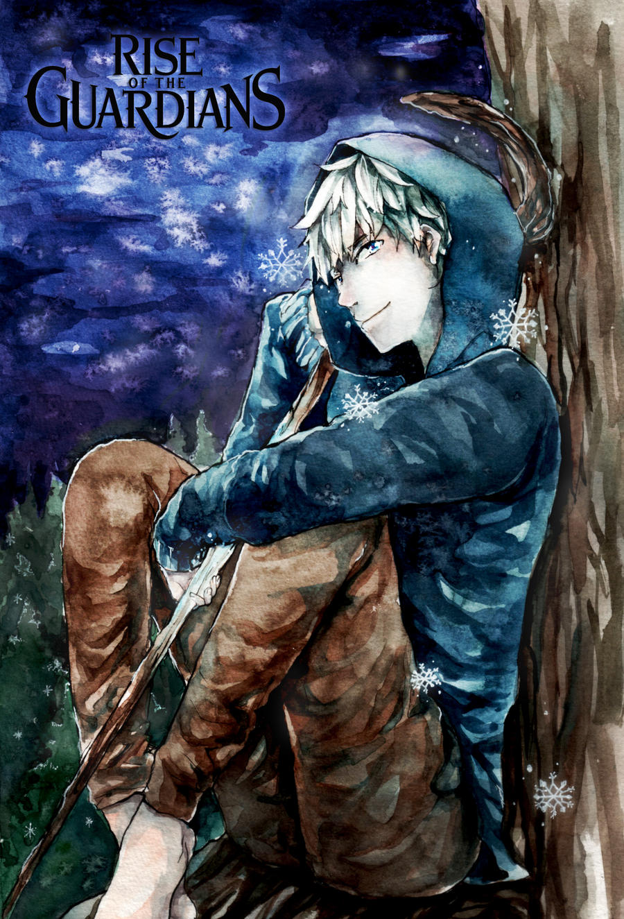 Rise of the guardians - Jack Frost by carina-dlr