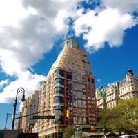 upper Manhattan by paintmewet