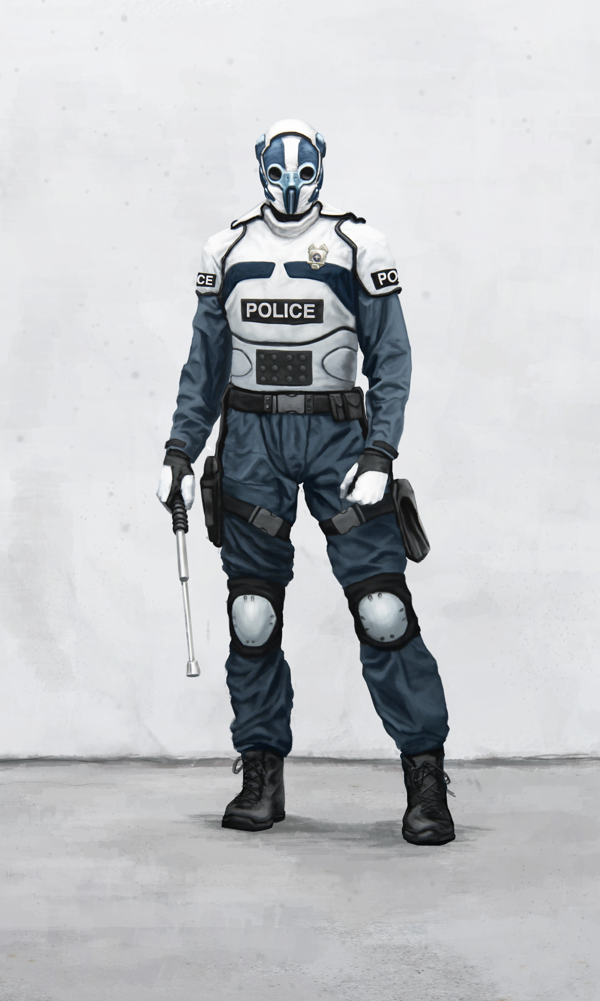 Police force by Fetscher