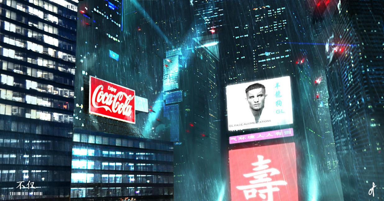 Cyberpunk City 2 by Fetscher