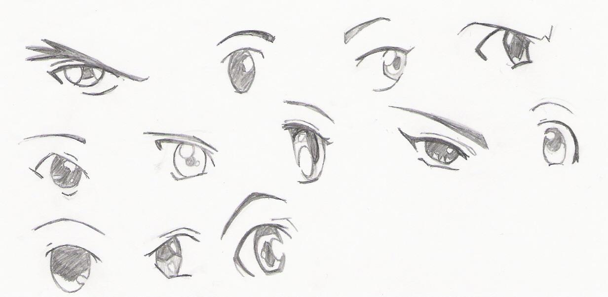 Anime Eyes By HExIdEvIaNt