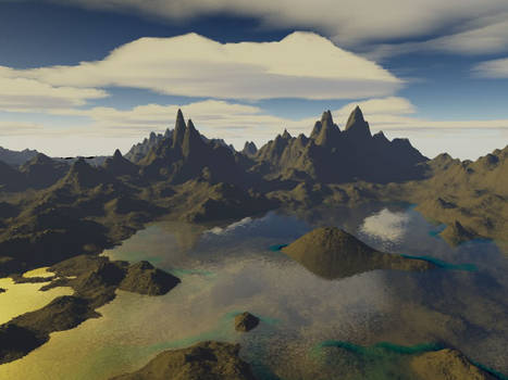 Here's another Terragen pic...
