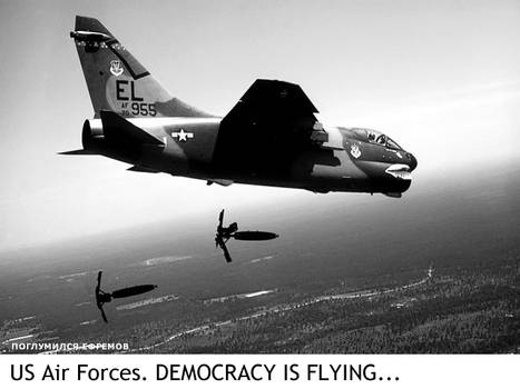 Democracy is flying...