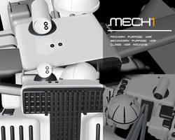 .mech1 spy-render1 by inok