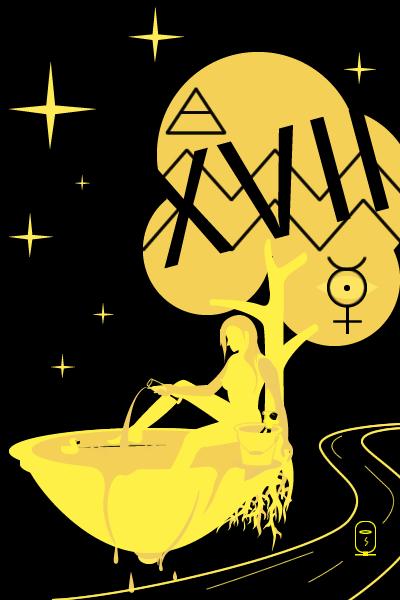 Tarot of inner fire: Star card