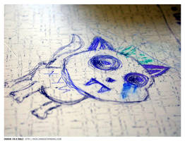 Drawn on a table by inok