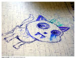Drawn on a table