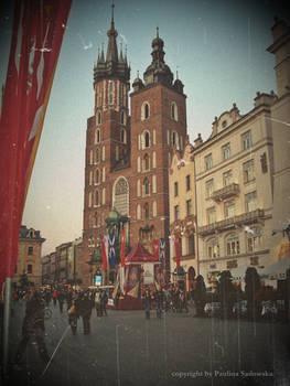 postcard from KRAKOW