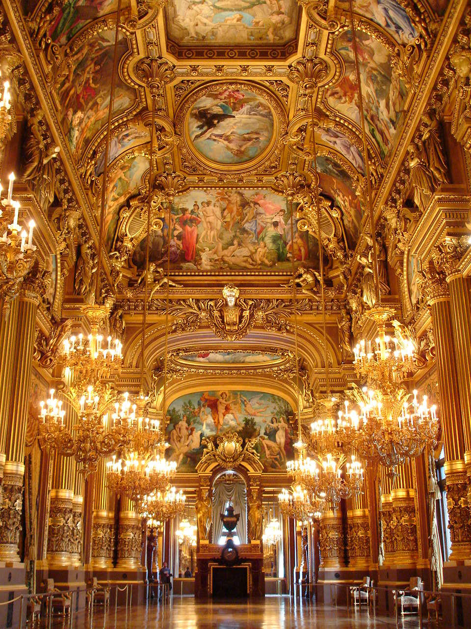 The Grand Foyer Palais Garnier : Phantom s opera by kenchee on deviantart