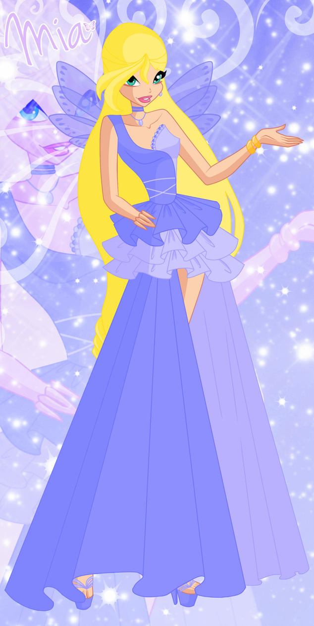 Mia Dress - Season 6 by Saskia0107