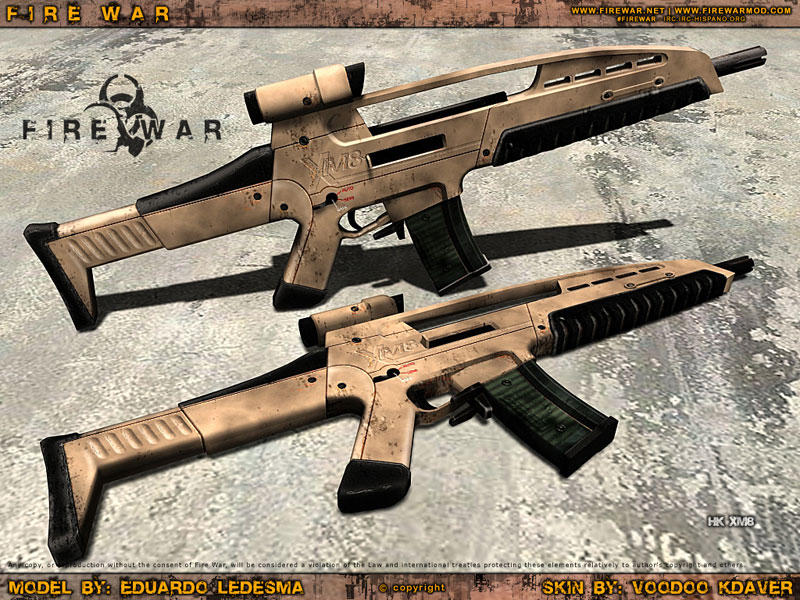XM8 marron by Never142...