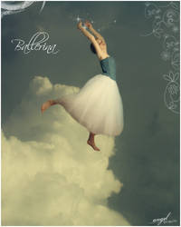 Ballerina angel by Pozsy