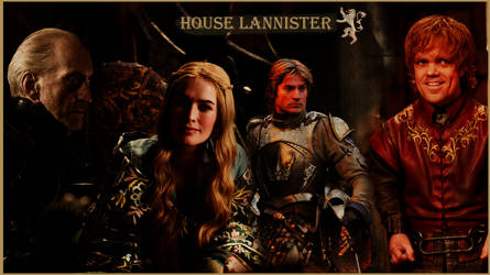 House Lannister by Pozsy