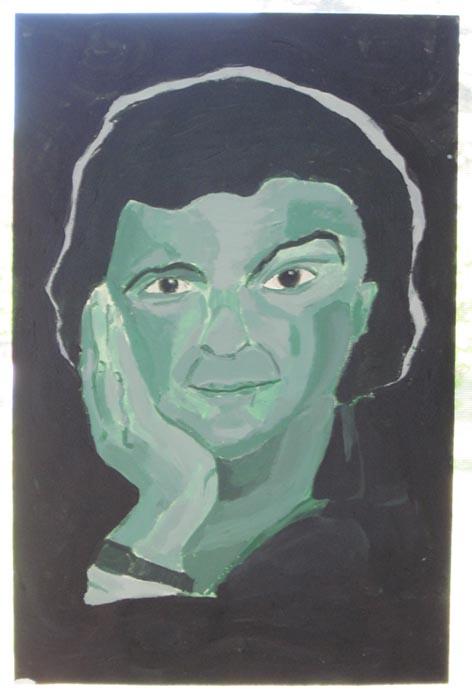Space Green: Douglas Adams by Tsuki3