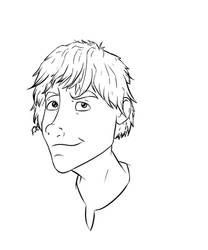 Older Hiccup Lineart