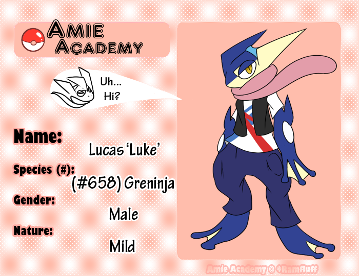 Amie Academy - Lucas 'Luke' by Dragonikku