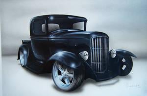 HOT ROD truck by tommyart76