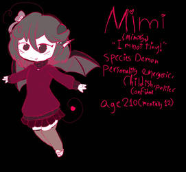 mimi ref and new baccstori by YukiPlays