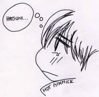 Shinogu...thinking? by Inspired-Brunette