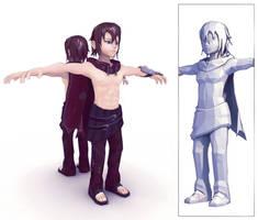 3D Krad by kyubus