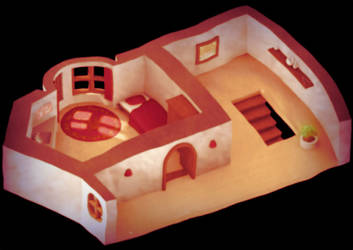 3D Hotelroom :rpgproject: by kyubus