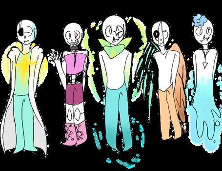 Undertale skeleton adopts