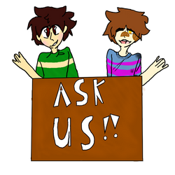 ask dusk tale frisk and chara!!