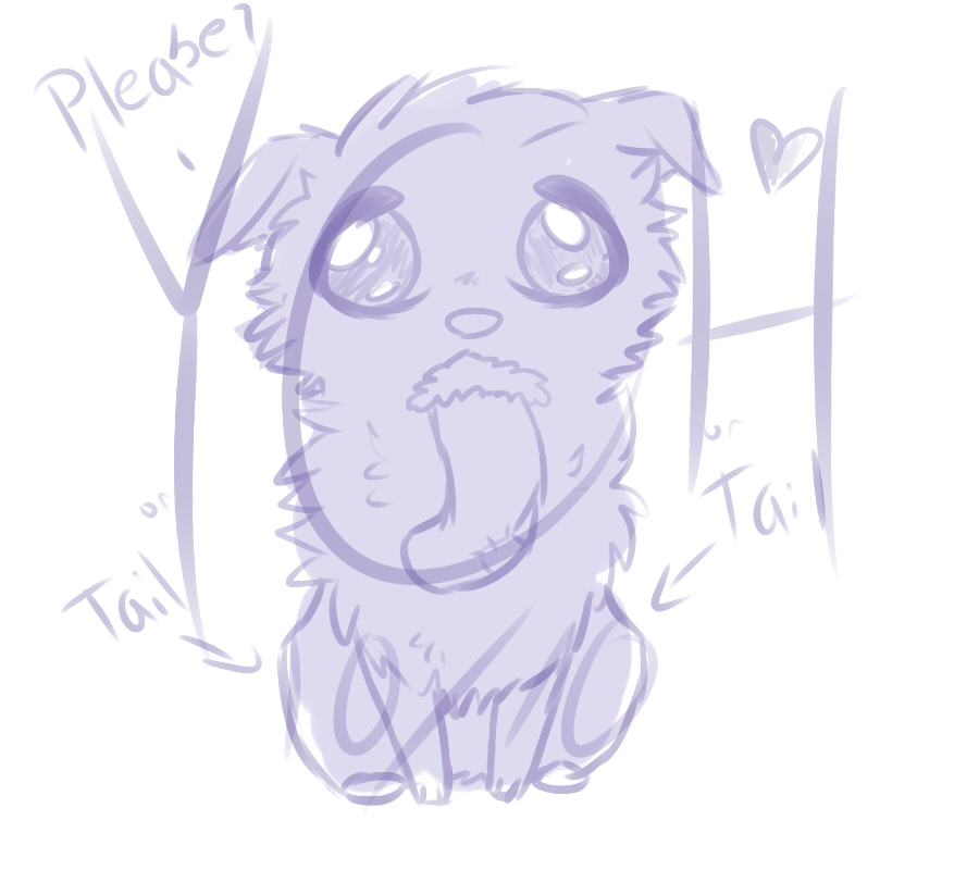Can't resist those puppy eyes - YCH 9/10 OPEN by Girryy