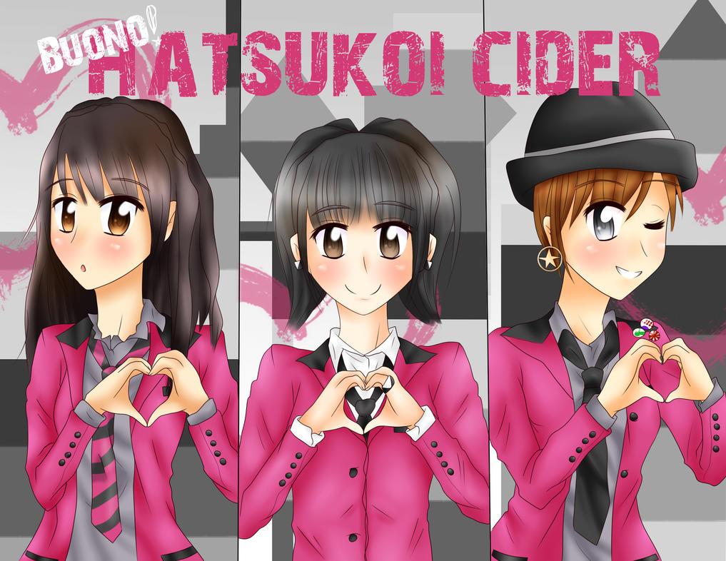 Hatsukoi Cider .:Buono:. by xCrisFujisakiDuNekox