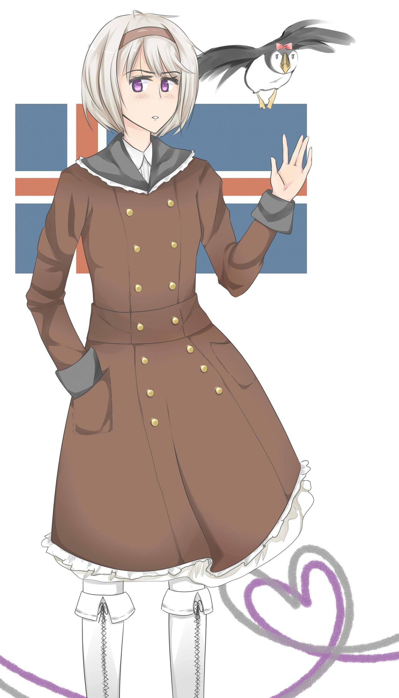 Iceland Hetalia Name Nyo Iceland By Xcrisfujisakidunekox Djeadz