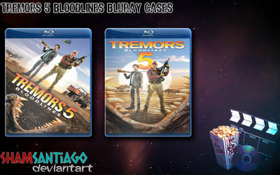 Tremors 5 - Bloodlines Bluray Cases