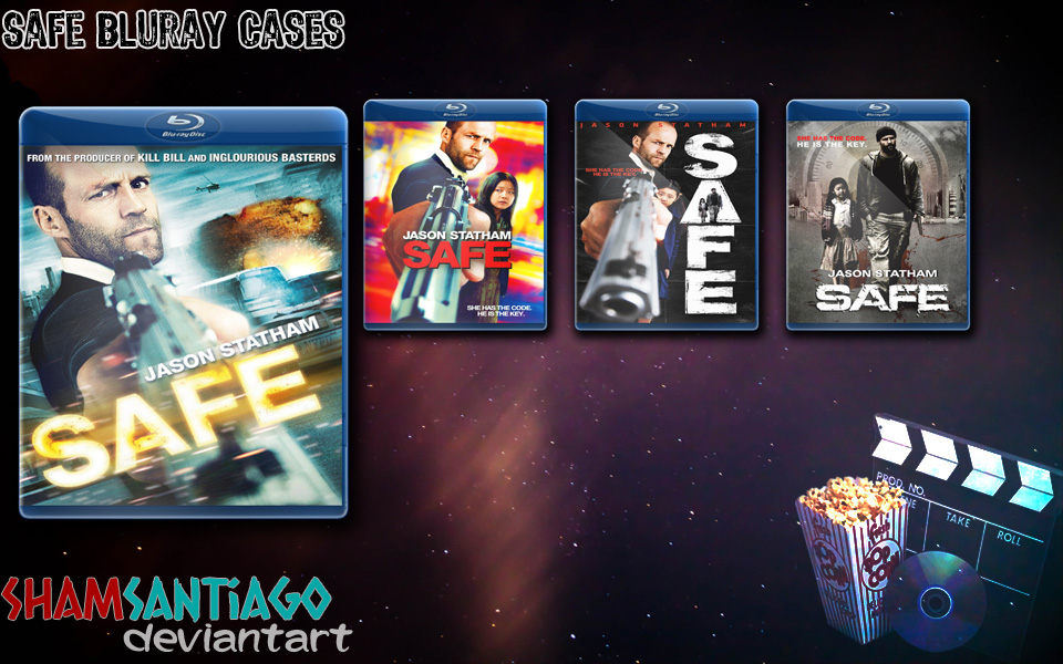 Safe Bluray Cases by ShamSantiago