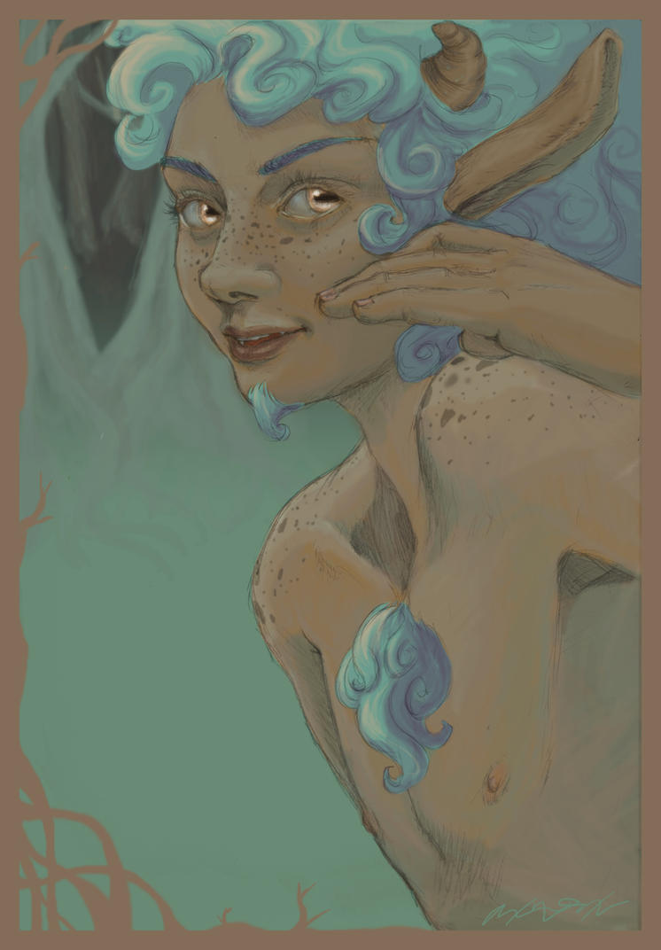 Faun by kain-was-here